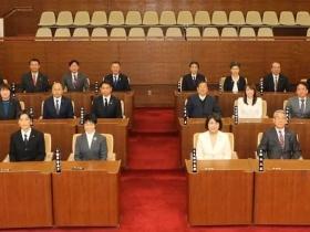 令和2年度初の臨時議会